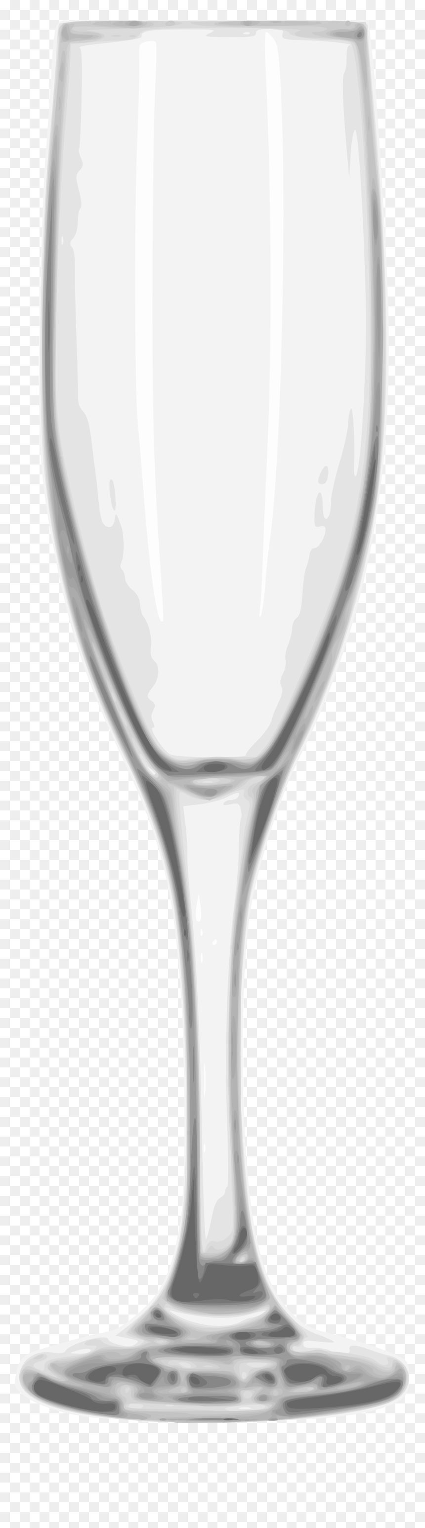 Transparent Champagne Glass Clipart Black And White - Champagne Flute Glass Png, Png Download