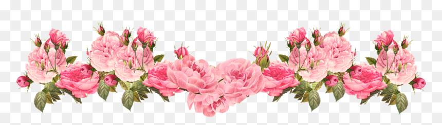 Floral Bottom Border Design, HD Png Download