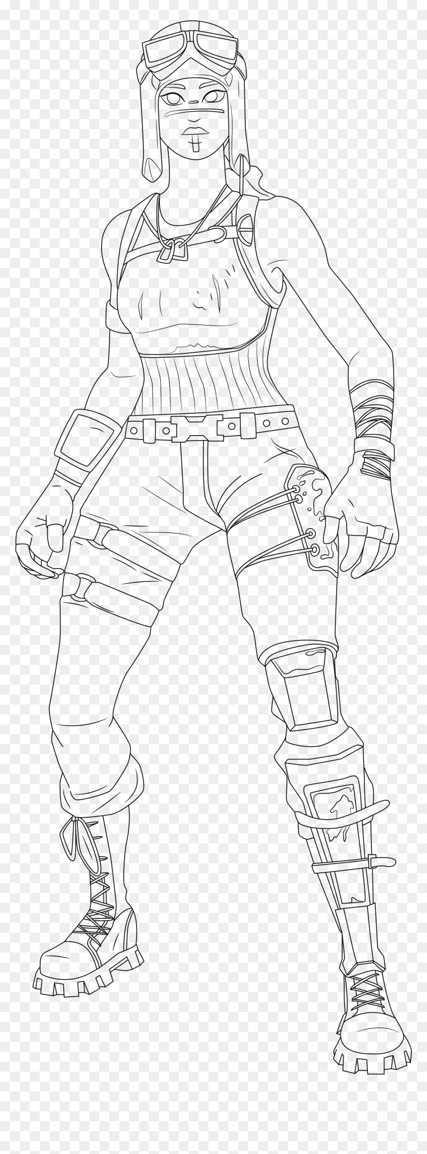 Fortnite Coloring Pages Tons Of Skins Nexus At Raiders Fortnite Skins Coloring Pages Hd Png Download 1139x2994 Png Dlf Pt