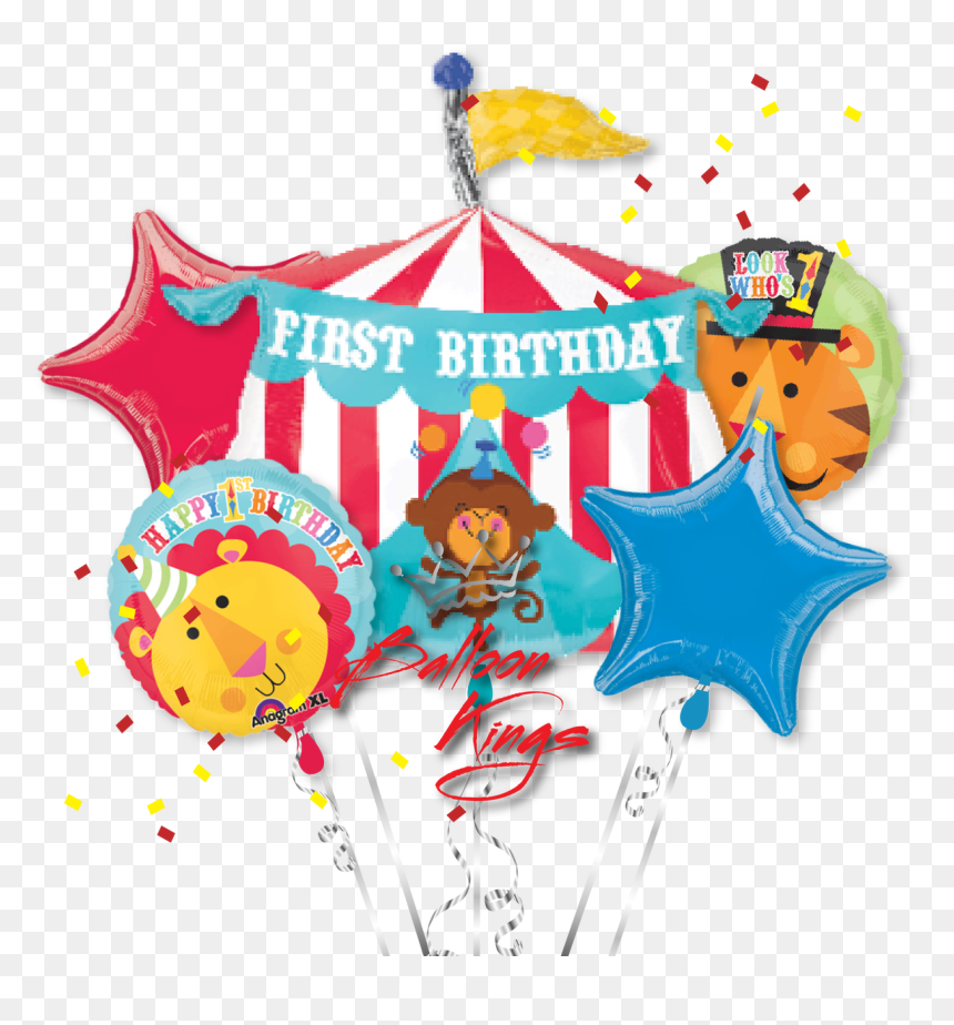 Transparent First Birthday Png - Big Top Circus Birthday, Png Download