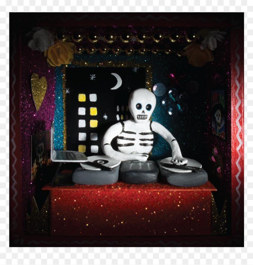 Dia De Los Muertos Dj, HD Png Download