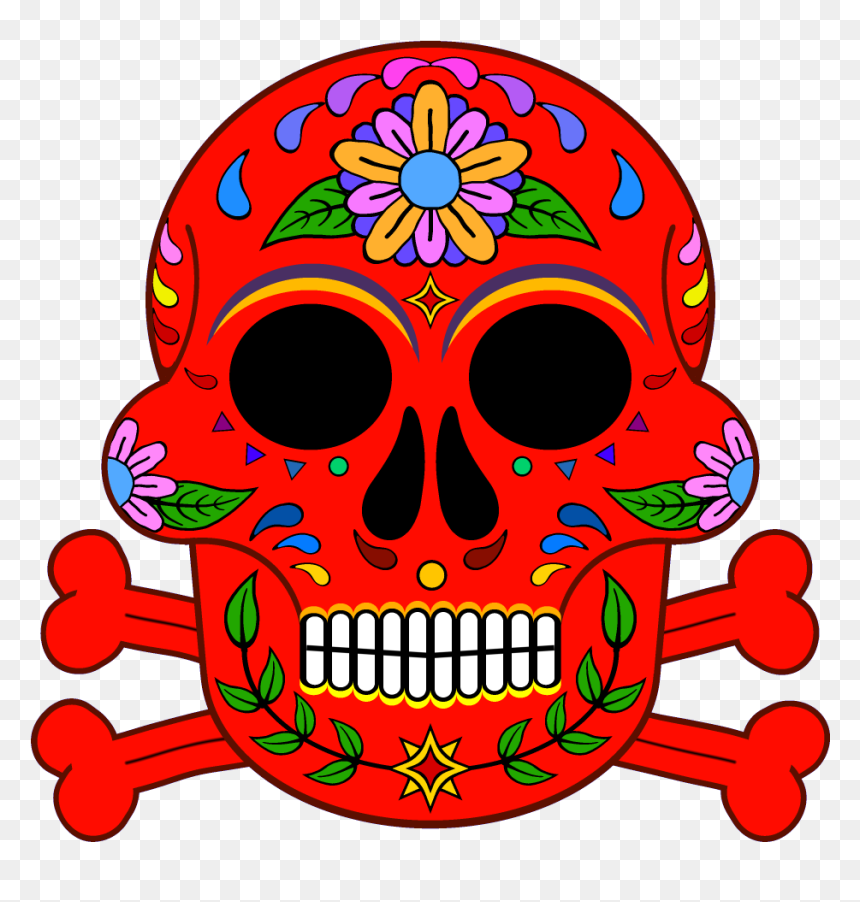 Day Of The Dead 1000 X 1000 Png Transparent - Day Of The Dead, Png Download