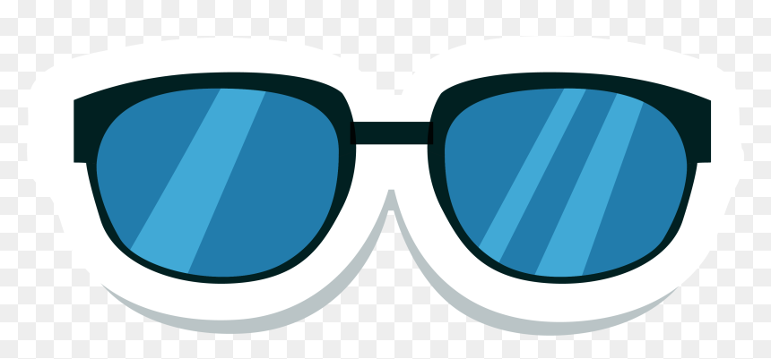 Cartoon Glasses Png - รูป แว่นตา การ์ตูน Png, Transparent Png