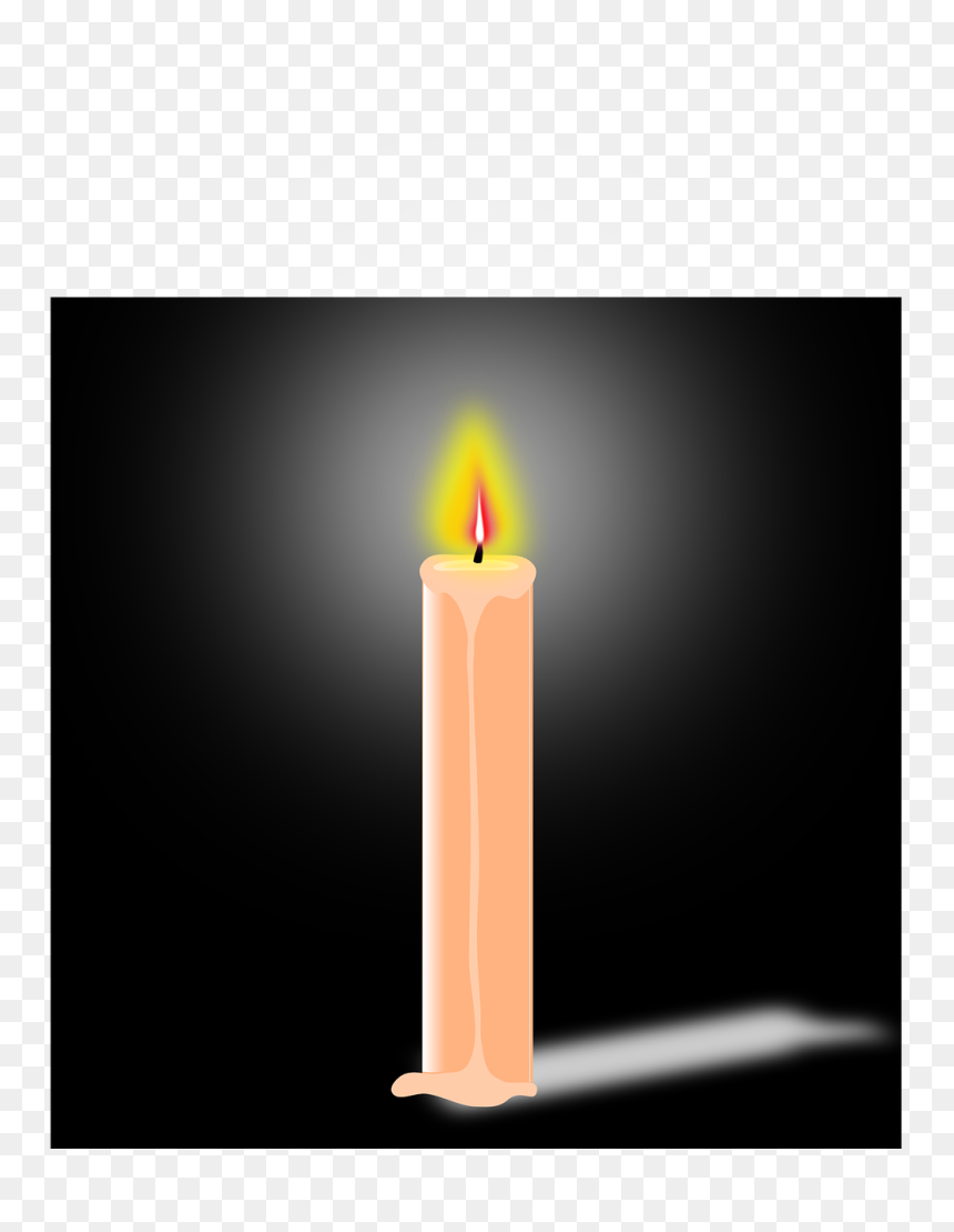 Birthday Candle  Hd Png Download - 1053x1280 Png