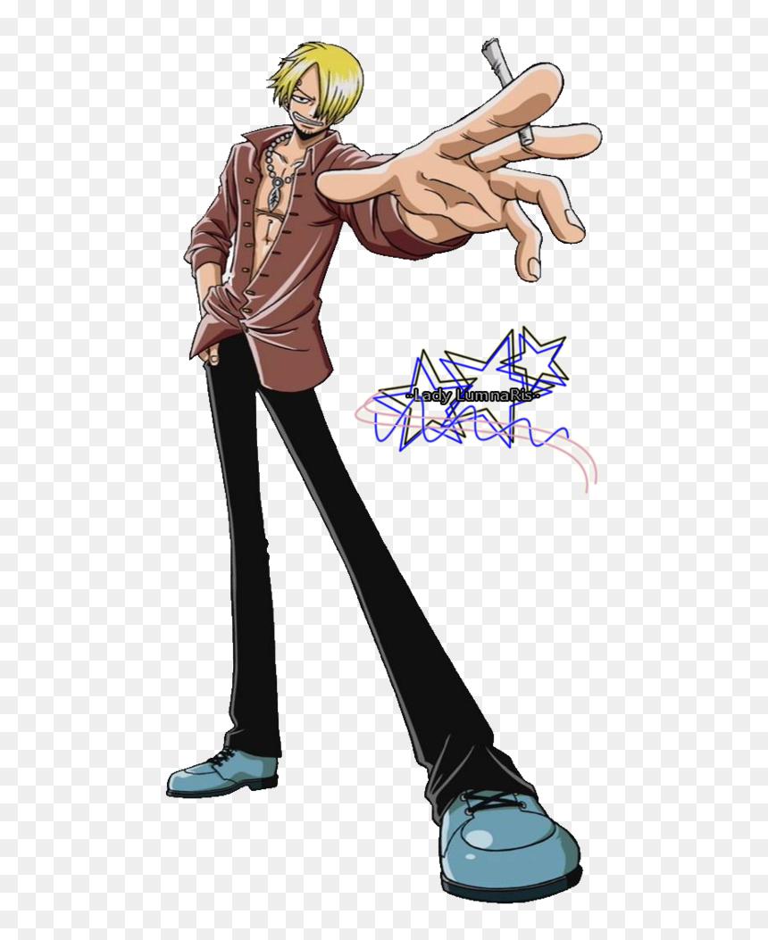 Transparent Sanji Png One Piece Sanji Png Download 491x973 Png Dlf Pt