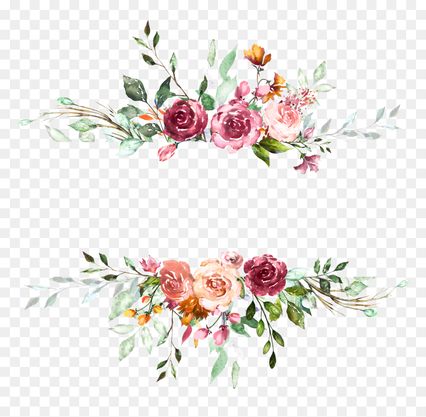 background wedding invitation flowers hd png download