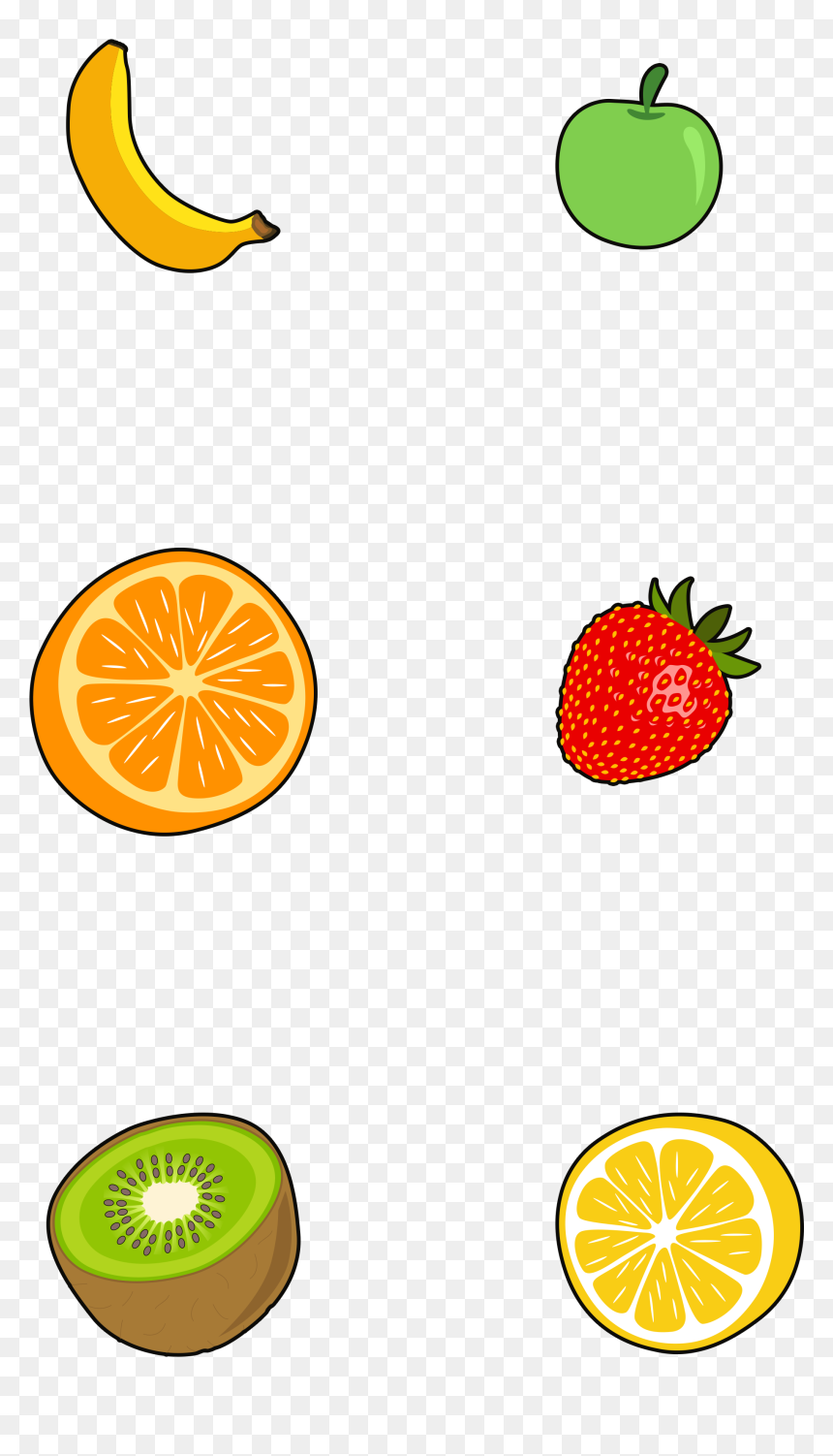 Transparent Fruits And Vegetables Border Clipart - ตกแต่ง ใบ งาน ผล ไม้, HD Png Download
