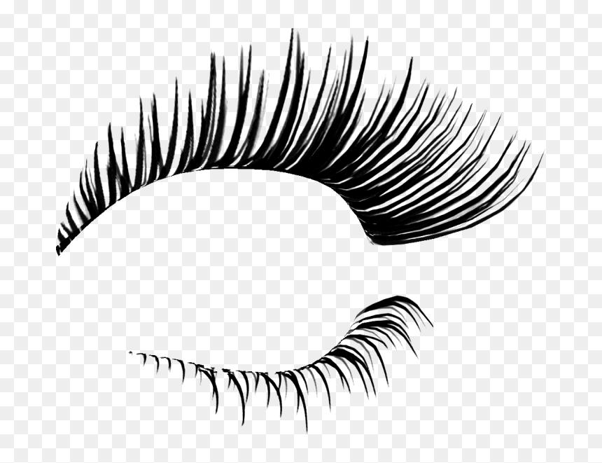 Transparent Eyelash Vector Png - Transparent Eyelashes Png, Png Download