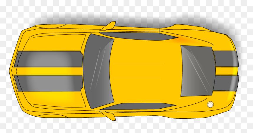 "Top View For Camaro""s Car - Car Top View Png, Transparent Png"
