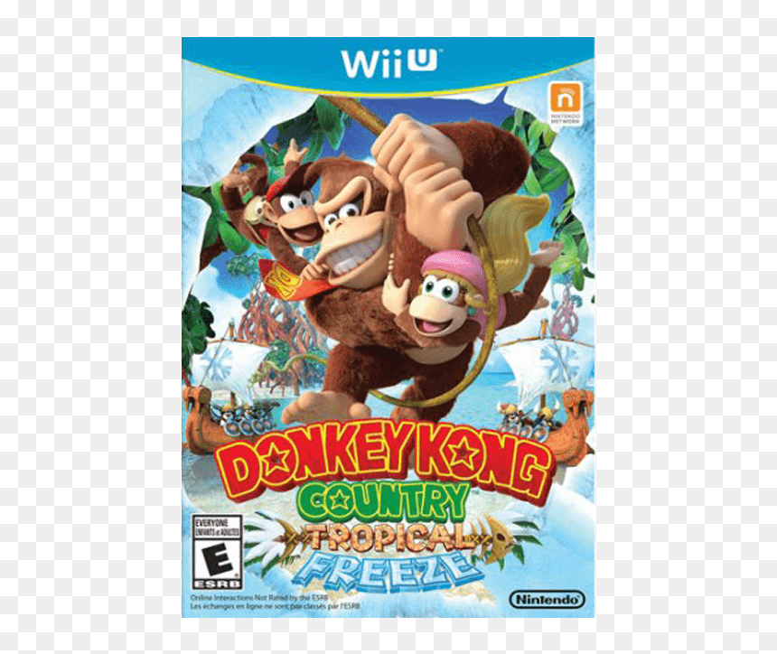 Donkey Kong Country Tropical Freeze Wii U, HD Png Download