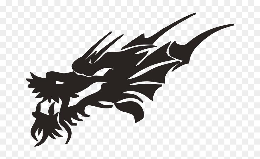 Lion Tattoo Clipart Black Dragon Face Tribal Dragon Head Tattoo