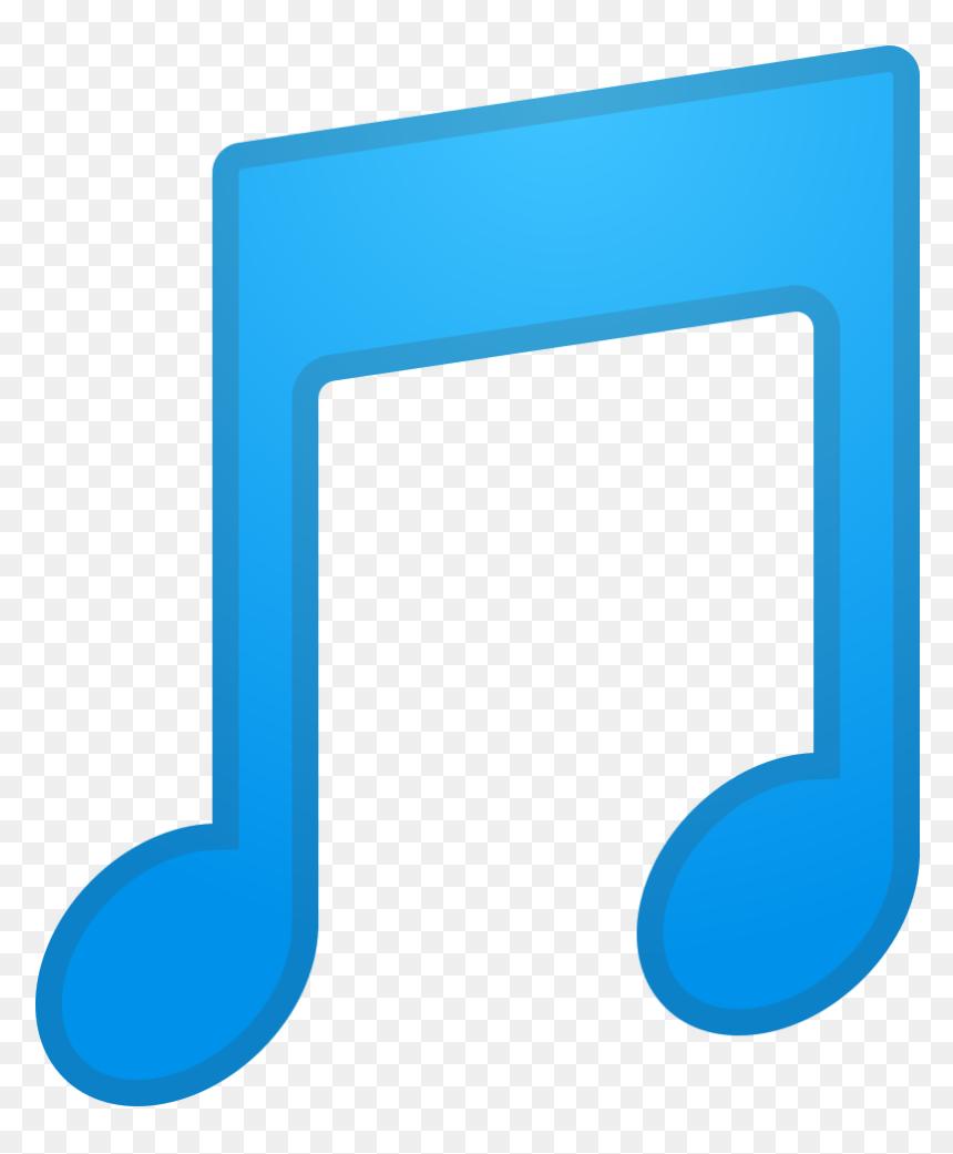 Song Note Emoji, HD Png Download
