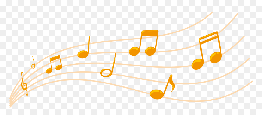 Colorful Music Notes Png, Transparent Png
