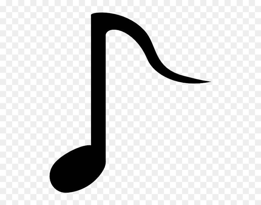 Music Notes With White Background, HD Png Download