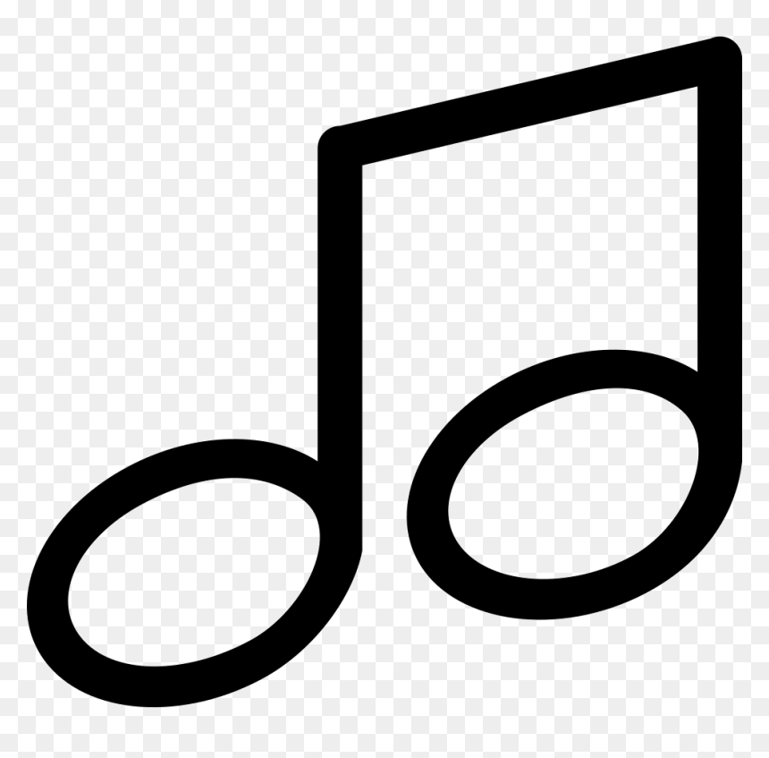 Big Music Note, HD Png Download