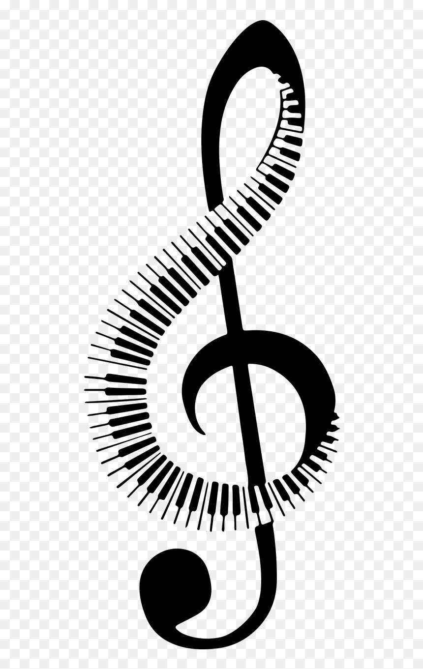 Piano Music Note Png, Transparent Png