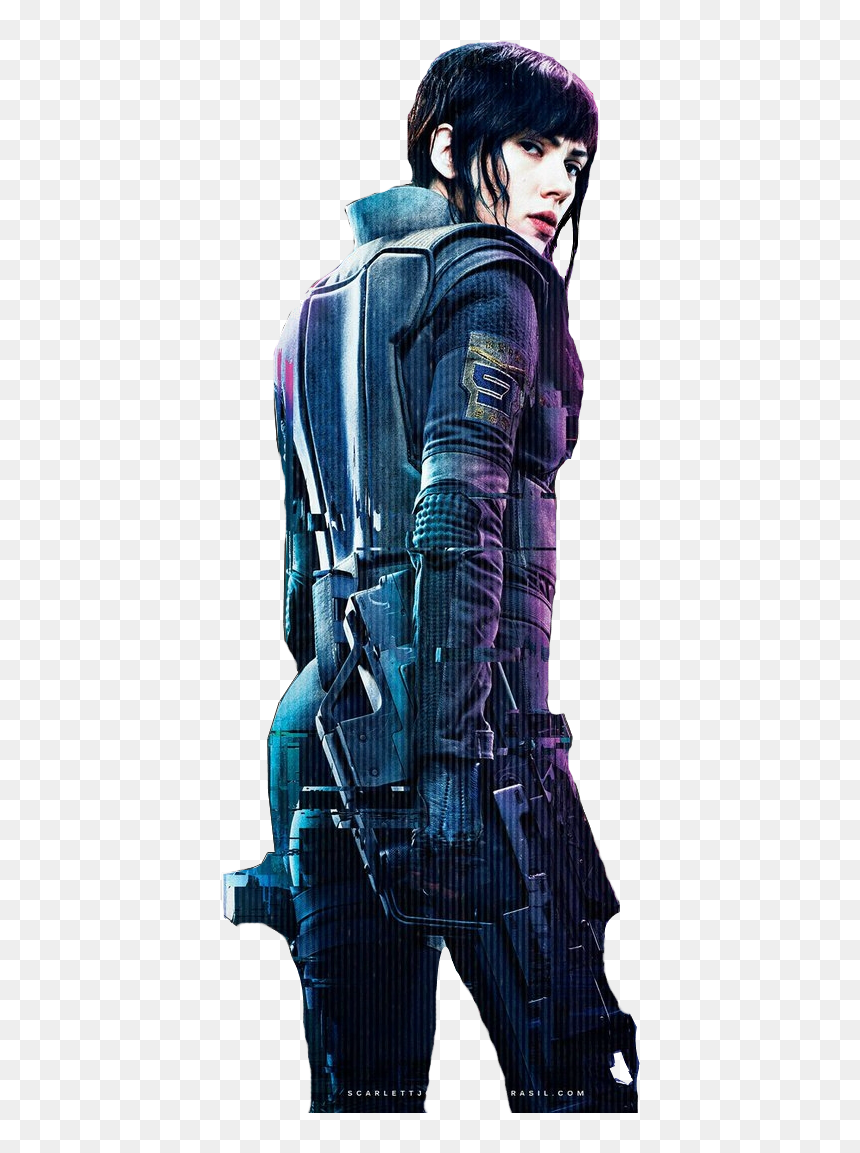 Ghost In The Shell 2017 Motoko Hd Png Download 677x1107 Png Dlf Pt