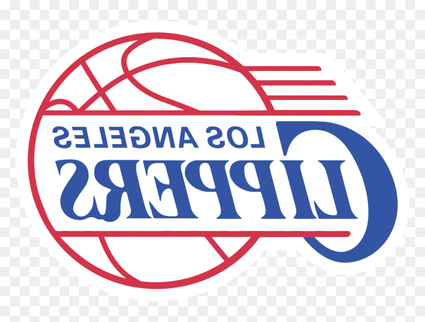Clippers Logo Clipart - Los Angeles Clippers Logo Png, Transparent Png