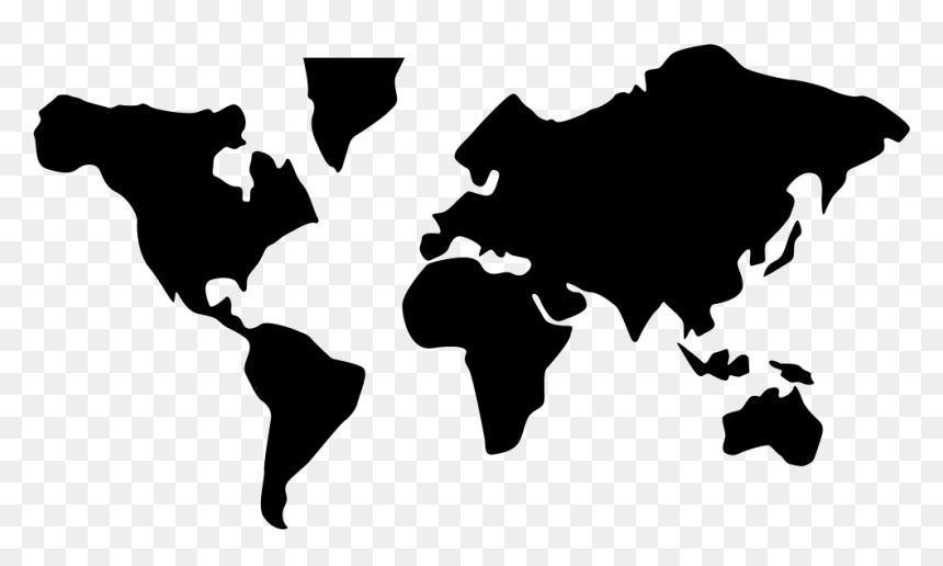 World Map - Icon Png World Map Icon, Transparent Png