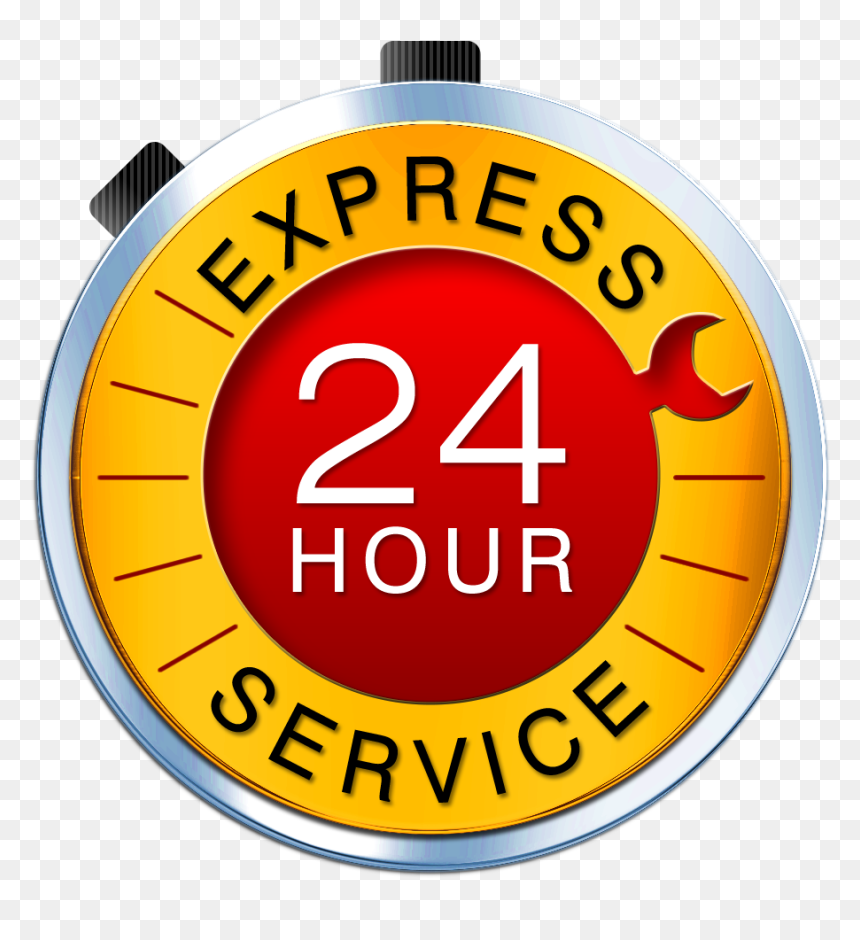 Transparent 24 Hour Emergency Service Png - 24 Hours Service, Png Download