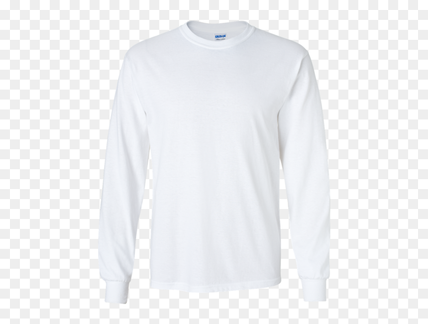 Long Sleeve White Blank, HD Png Download