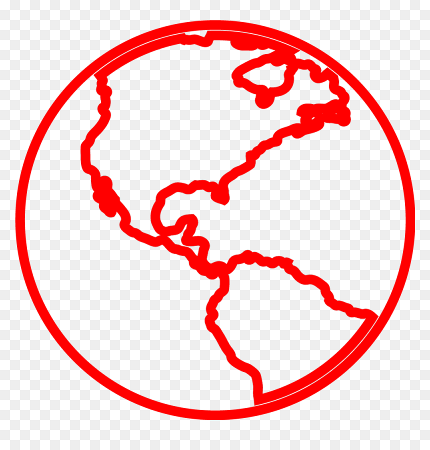 An Estimated 600 Million People Have Seen Our Why Stories - Earth Outline, HD Png Download