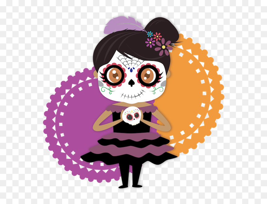 "Dulce""s Day Of The Dead Messages Sticker-0 - Day Of The Dead Messages, HD Png Download"