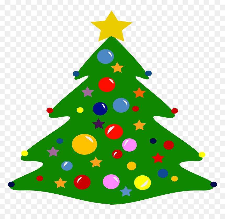Estrella De Arbol De Navidad, HD Png Download