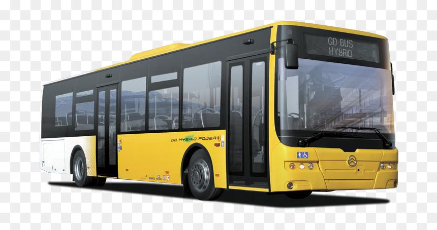City Bus Png Hd - Public Bus Transparent Background, Png Download