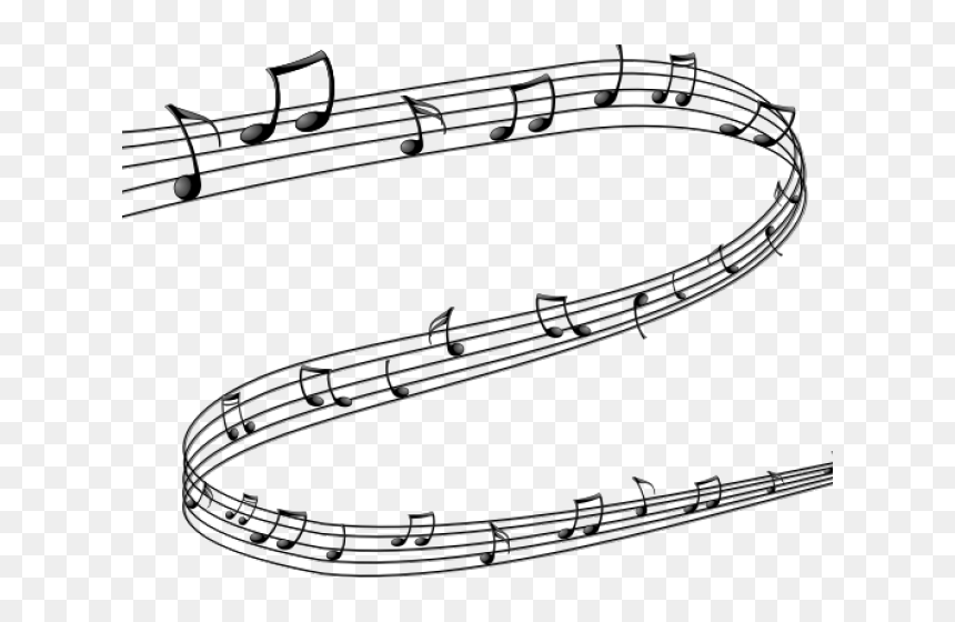 Musical Notes Clipart Pdf - Music Notes Symbol Png, Transparent Png