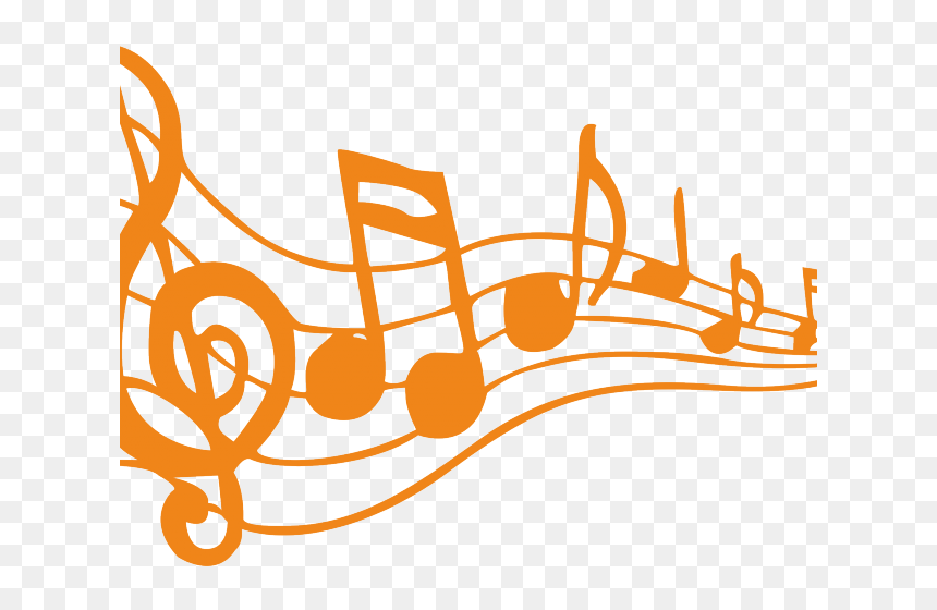 Transparent Clipart Note De Musique Orange Music Notes Clipart Hd Png Download 640x480 Png Dlf Pt