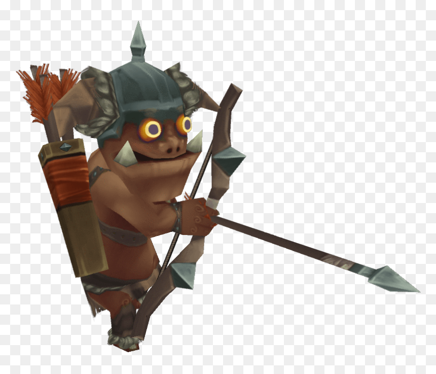 Low Poly Archer, HD Png Download