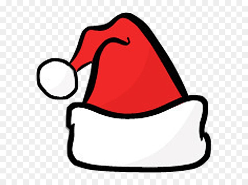 Christmas Clipart Santa Hat , Transparent Cartoons - Cartoon Christmas Hat Png, Png Download