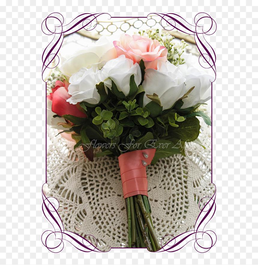 Silk Artificial Wedding Bouquet Ideas Wedding Basket For Flower Girl Hd Png Download 608x822 Png Dlf Pt