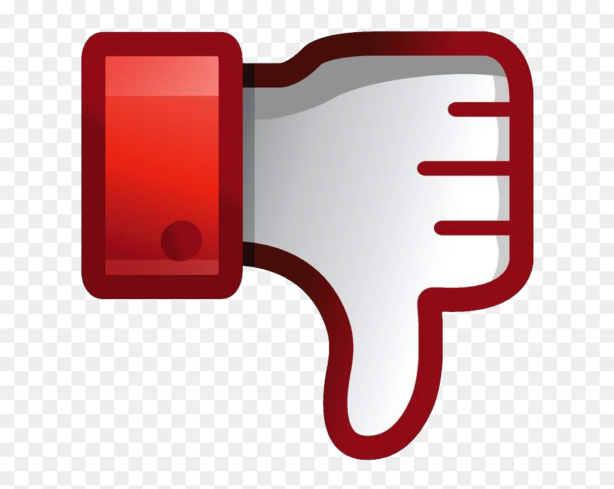 Dislike Png - Banning Likes On Facebook, Transparent Png