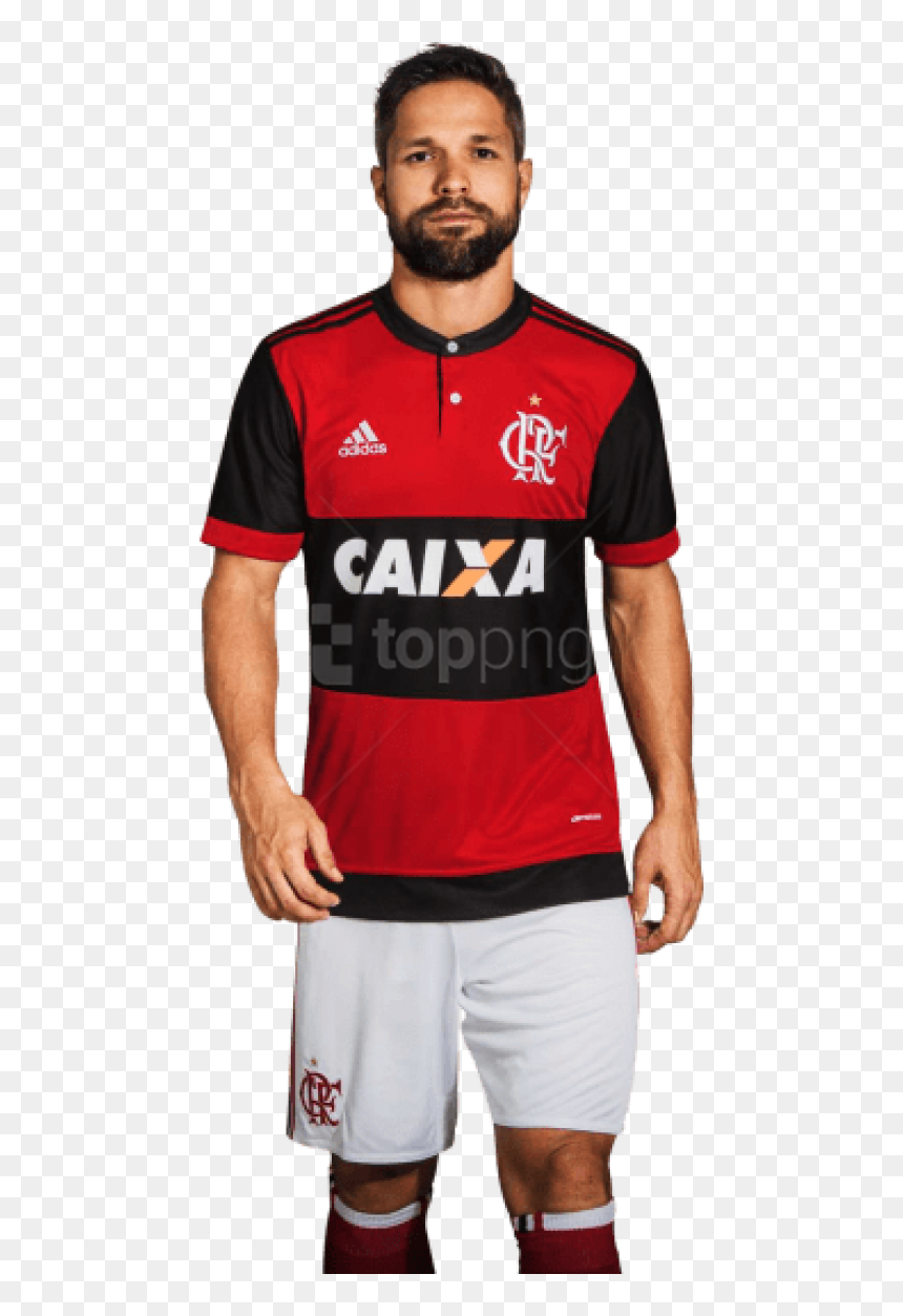 Download Diego Ribas Png Images Background - Flamengo Kit 17 18, Transparent Png