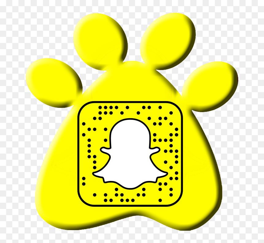 Snapchat Code On Yellow Paw Print Icon Snapchat Transparent Logo Small Hd Png Download 729x732 Png Dlf Pt 100 x 96 png 3 кб. dlf pt