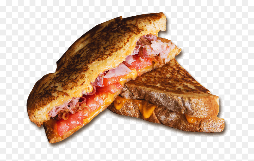 The Standard Bacon And Grilled Cheese Sandwich Transparent Hd Png Download 690x465 Png Dlf Pt