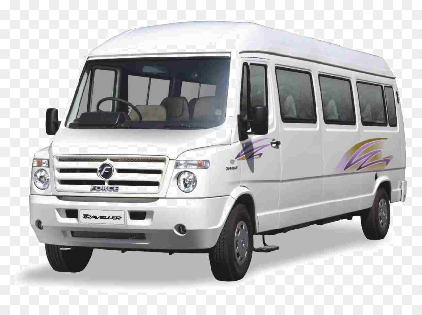 Tempo Traveller 35 Seater, HD Png Download