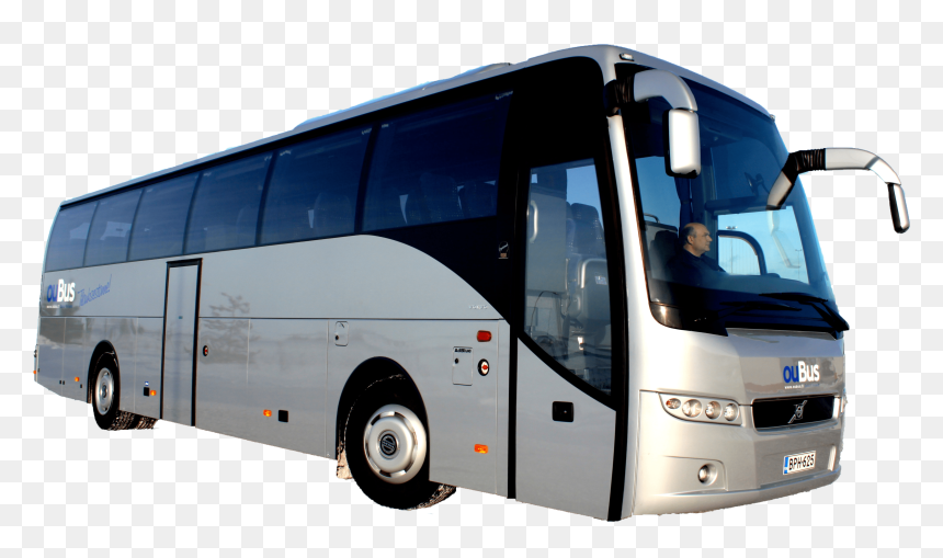 Volvo Bus Png, Transparent Png