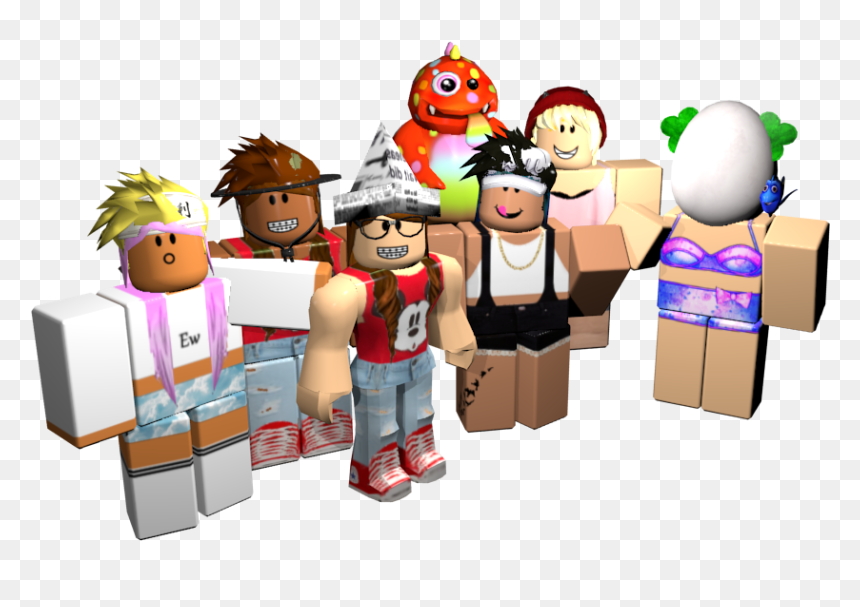 Roblox Playing With Friends, HD Png Download