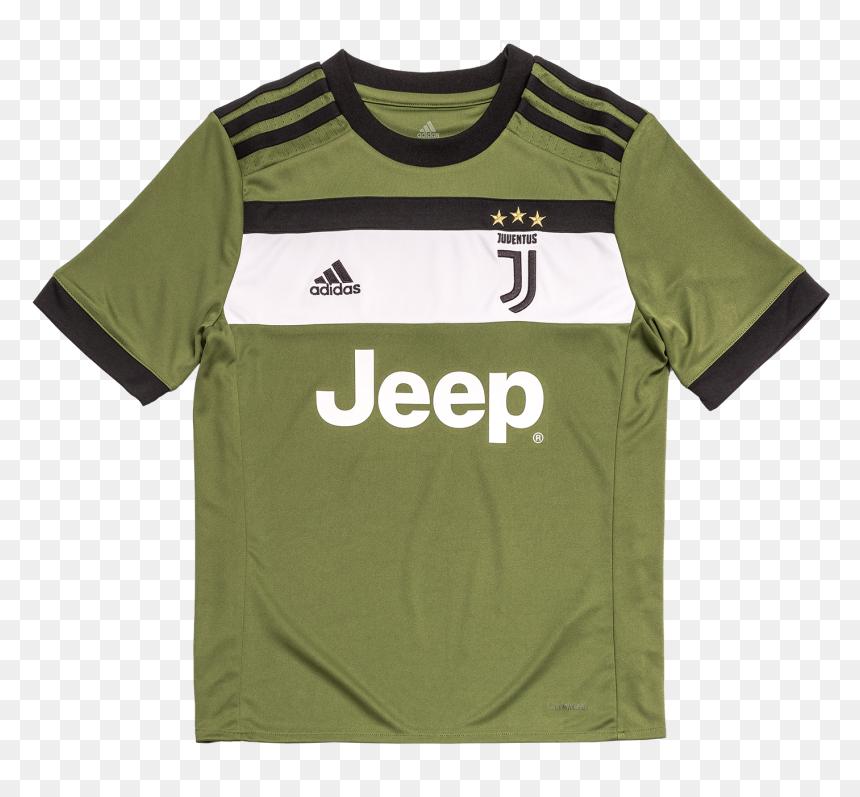 Juventus Third Jersey 2017/18 - Juventus 17 18 Third Kit, HD Png Download