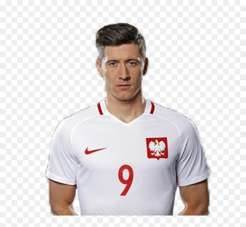 Lewandowski Polandia Png, Transparent Png