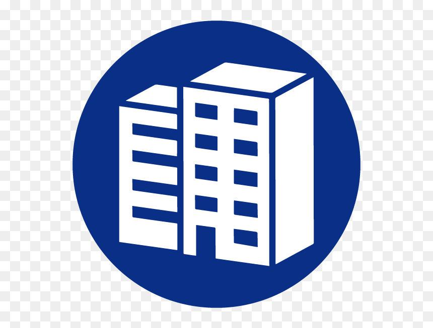 Mechanic Clipart Facility Maintenance - Blue Building Icon Png, Transparent Png