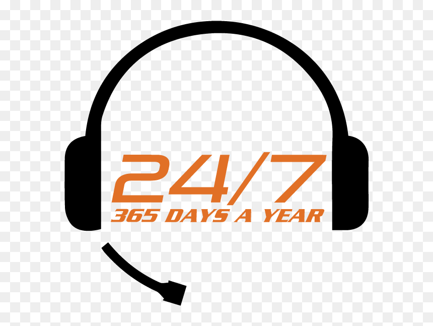 Transparent 24 Hours Png - 24 Hours 365 Days, Png Download