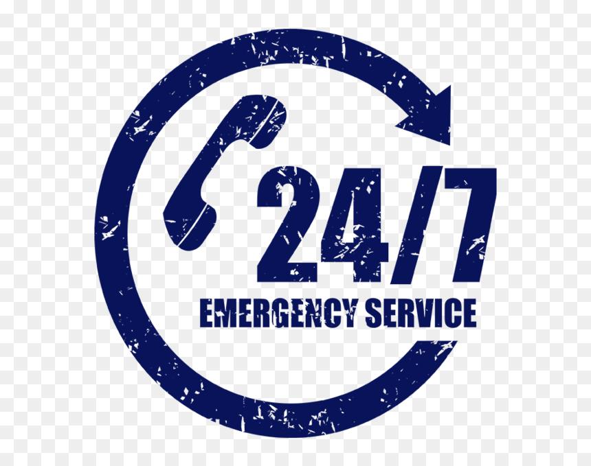 24 Hours Emergency Restoration - 24 7, HD Png Download