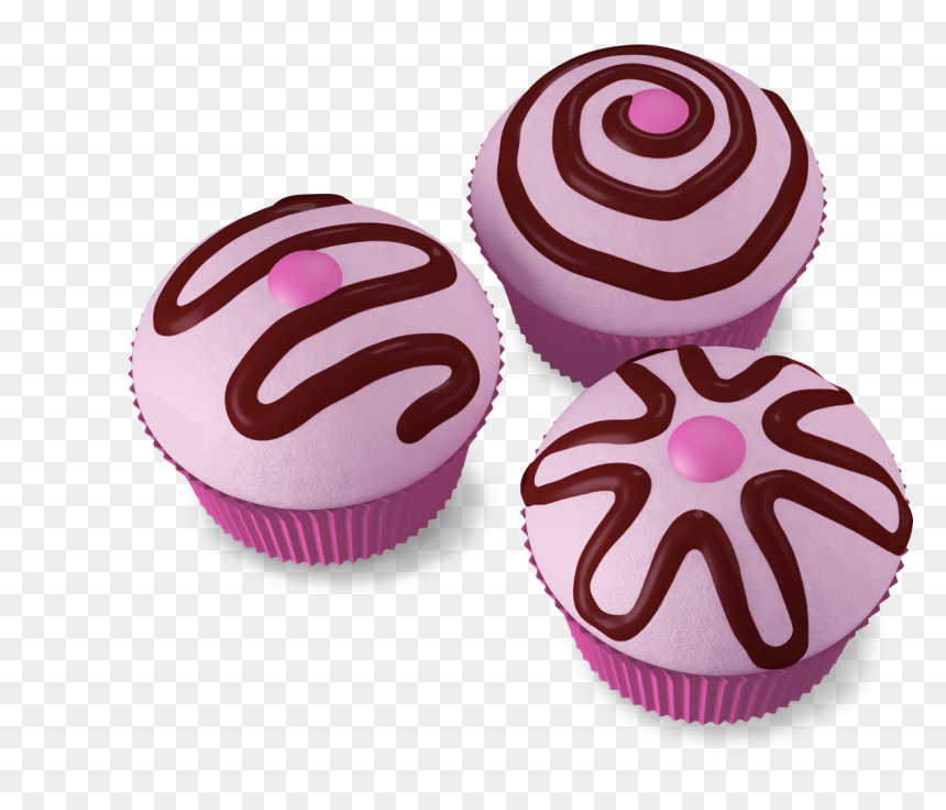 Cupcake Cancer De Mama, HD Png Download