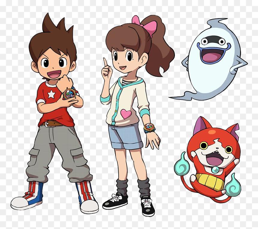 Cartoon,animated Cartoon,clip - Yo Kai Watch 2 Nathan, HD Png Download