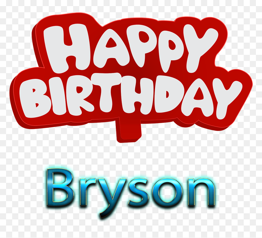 Bryson Name Logo Bokeh Png - Happy Birthday To You Mushtaq, Transparent Png
