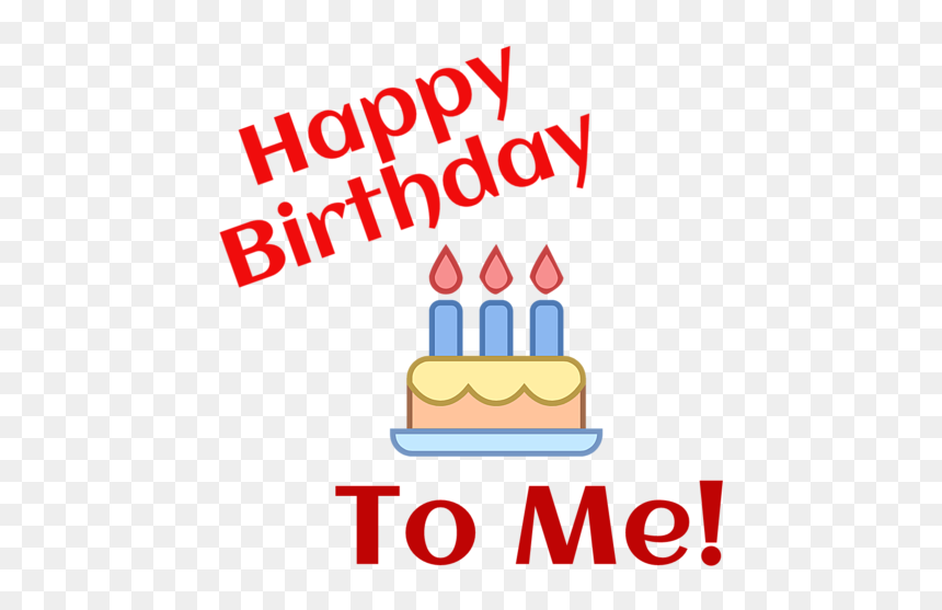 Happy Birthday To Me Images Free Download, HD Png Download
